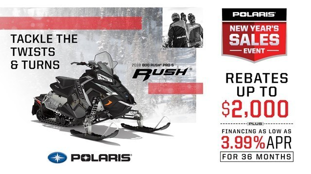 Polaris - New Year's Sales Event - Snowmobiles